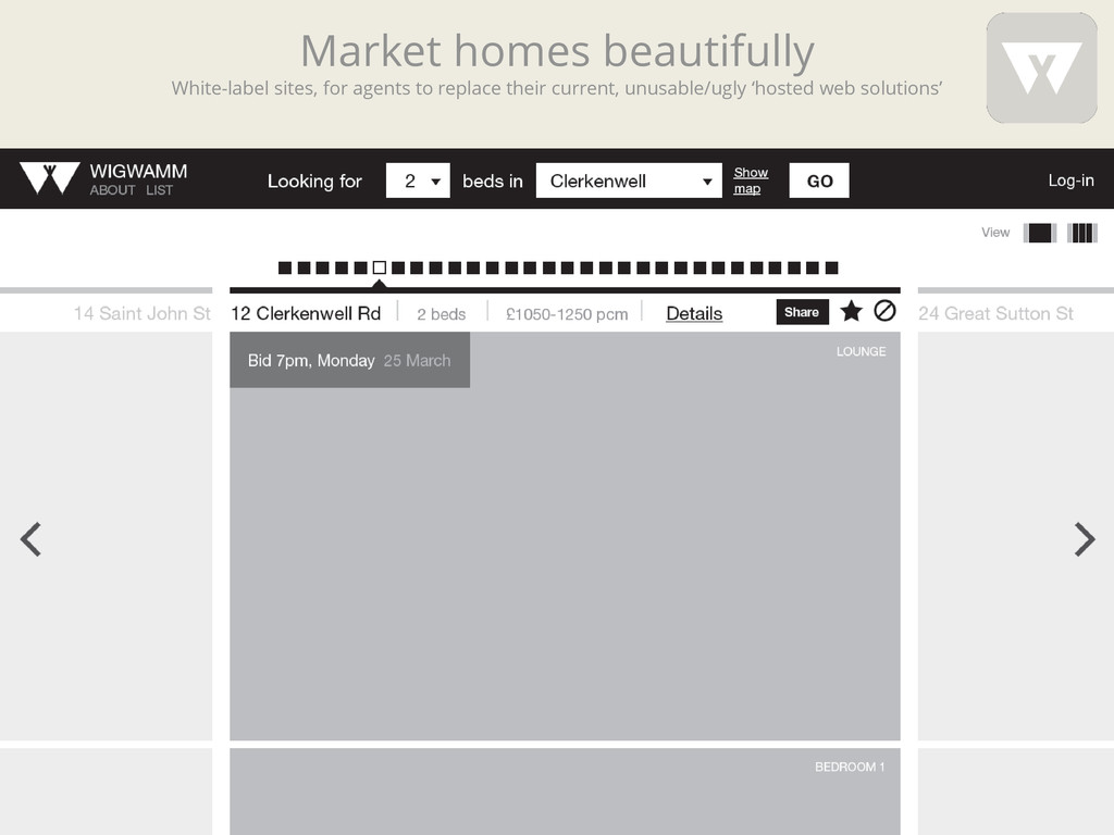 Market homes beautifully White-label sites, for...