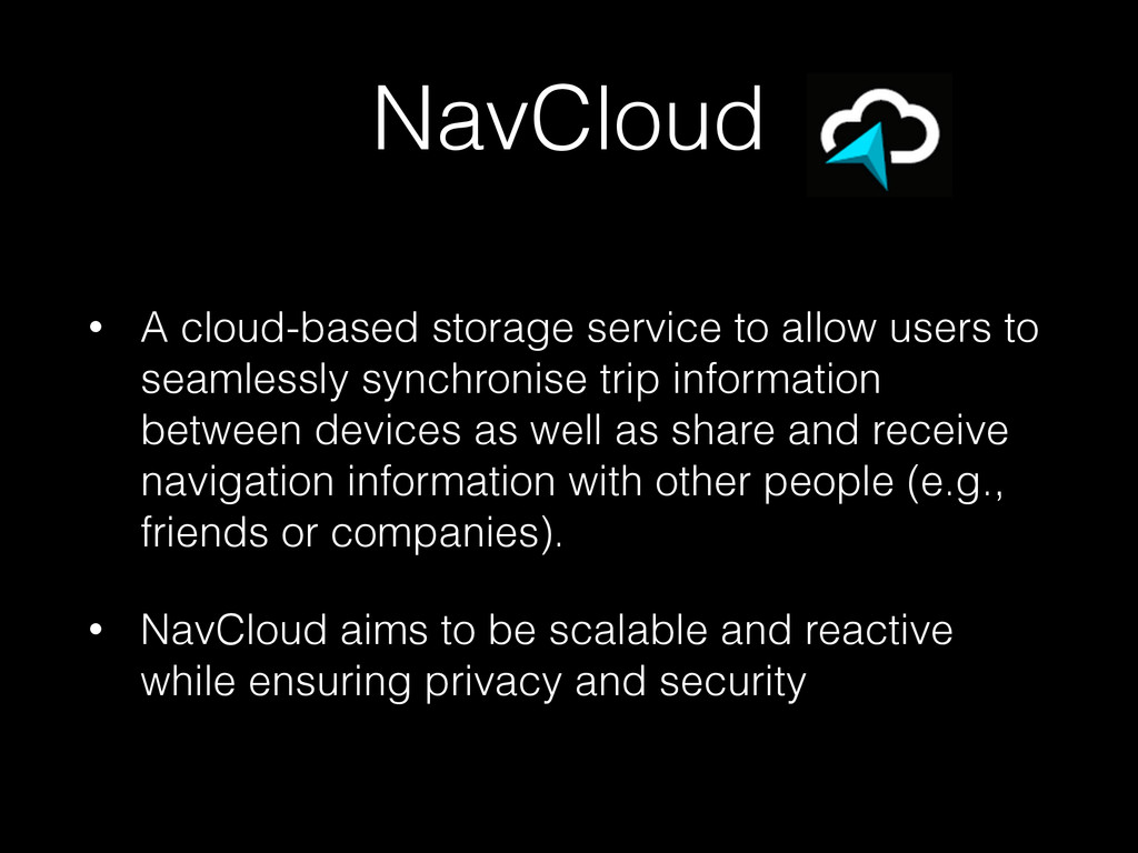 NavCloud • A cloud-based storage service to all...