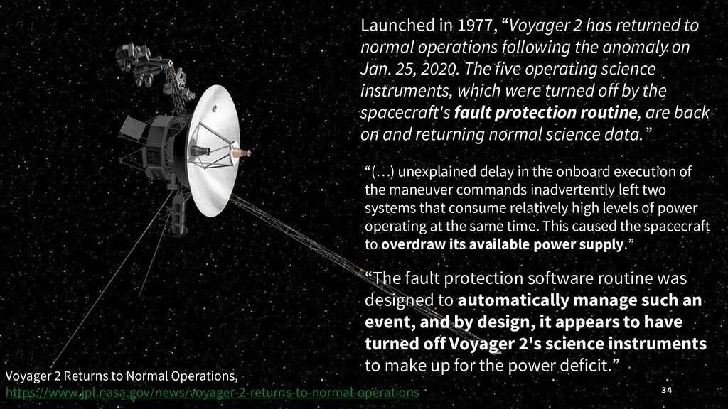"Launched in 1977, ""Voyager 2 has returned to no..."