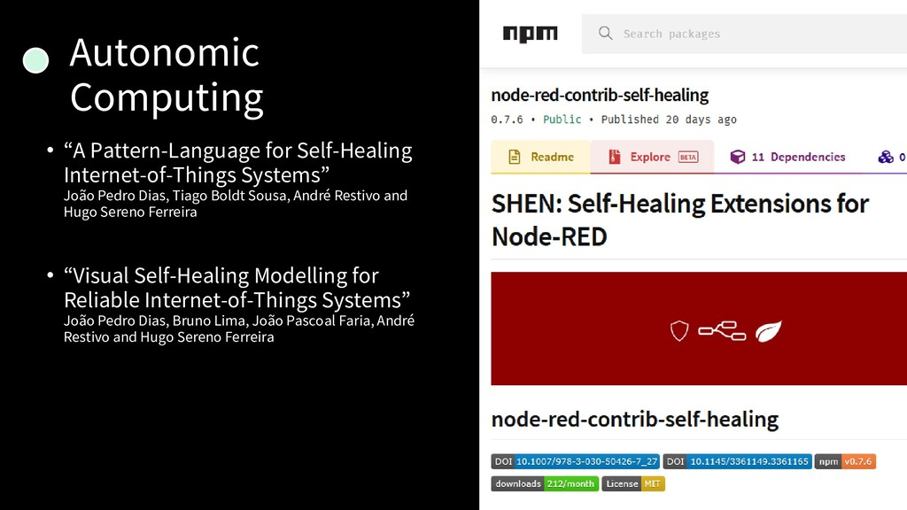 "Autonomic Computing • ""A Pattern-Language for S..."