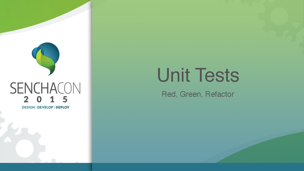 Unit Tests Red, Green, Refactor