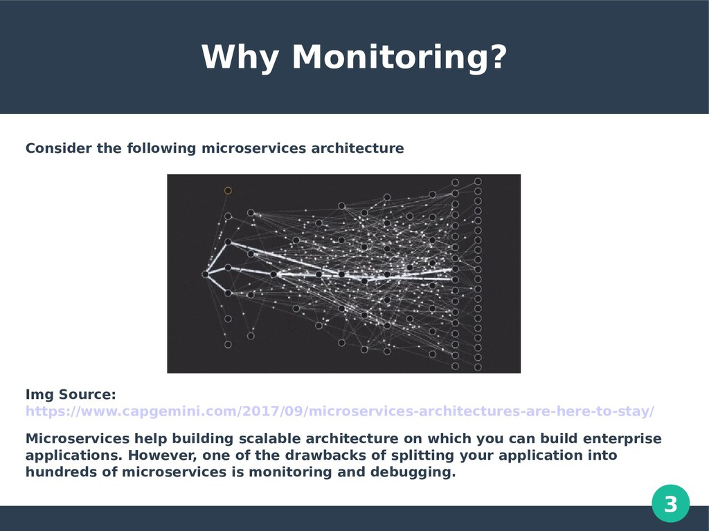 3 Why Monitoring? Consider the following micros...