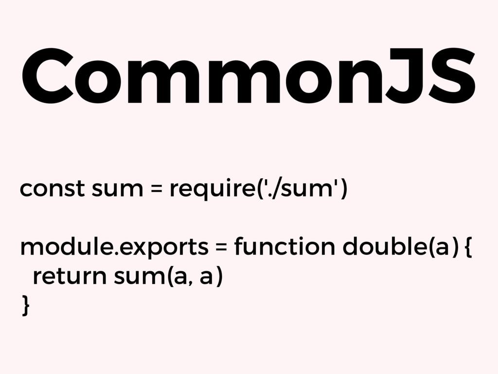 const sum = require('./sum') module.exports = f...