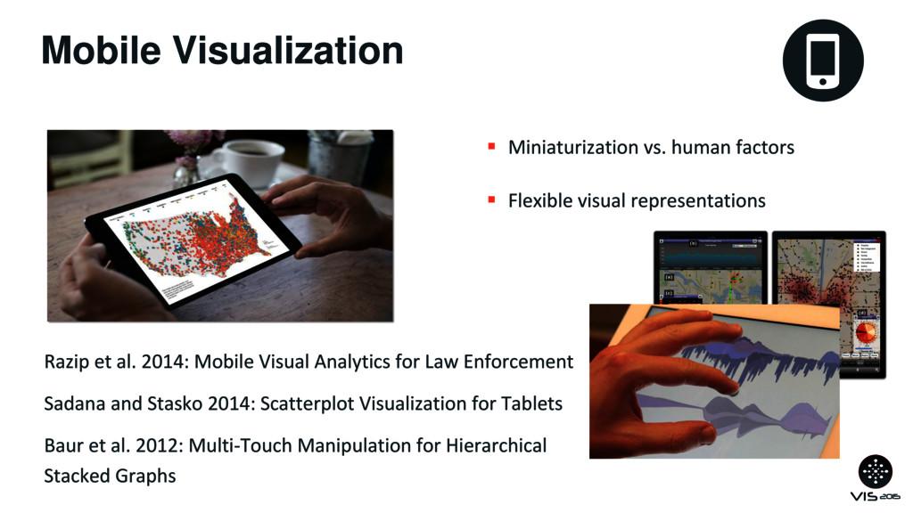 Mobile Visualization  Miniaturization vs. huma...