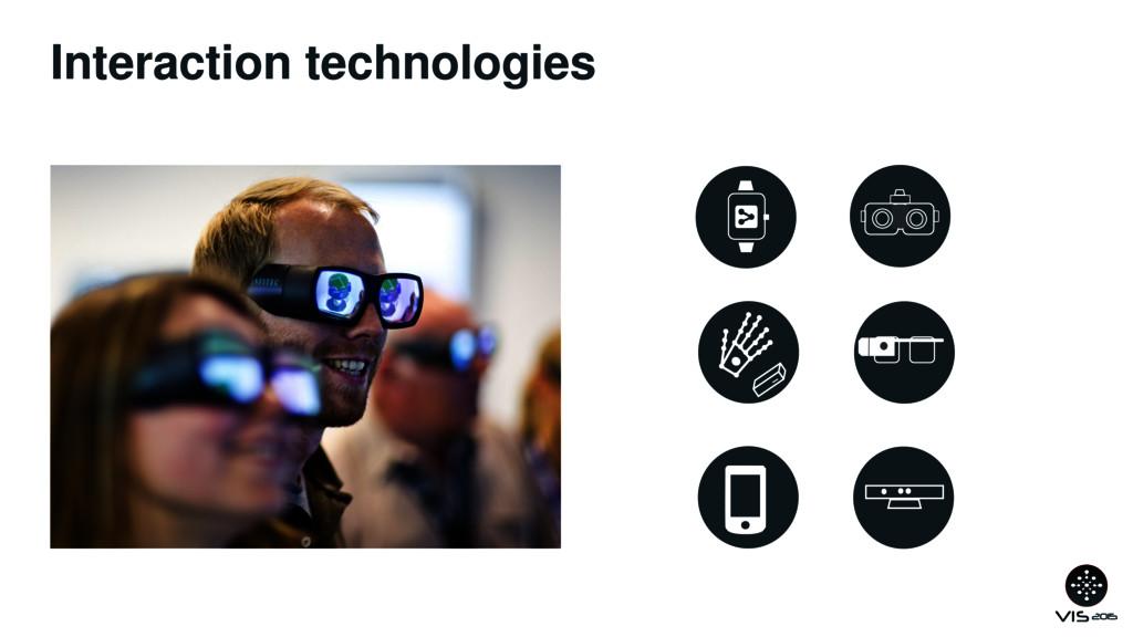 Interaction technologies