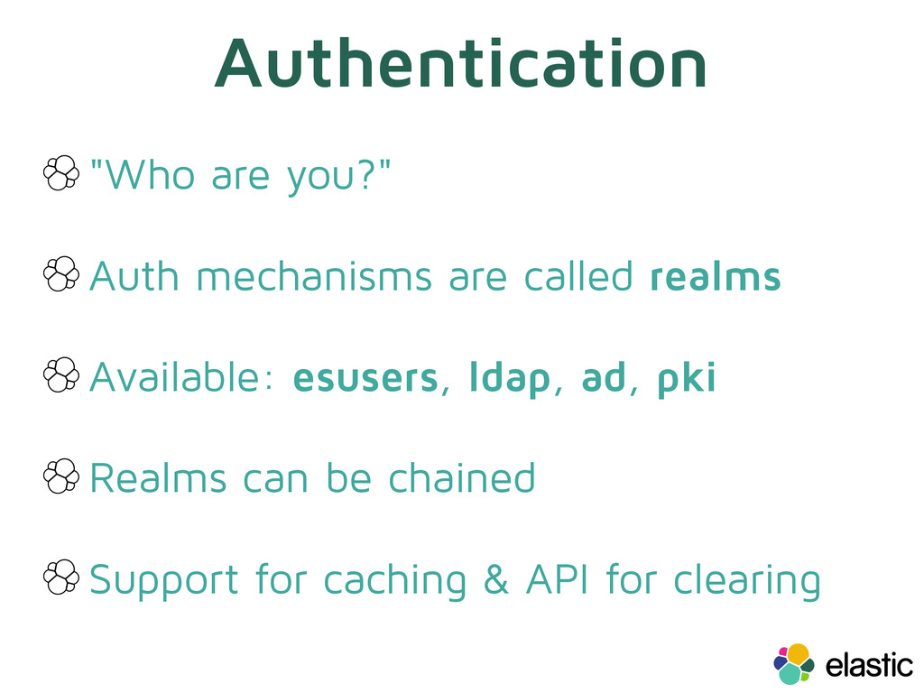 "Authentication ""Who are you?"" Auth mechanisms a..."