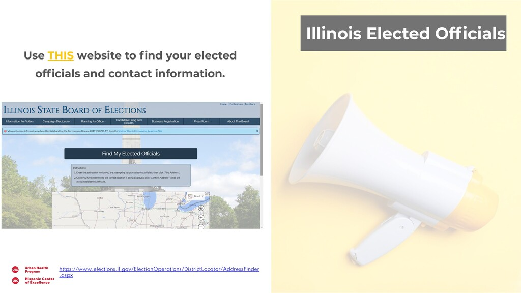 Illinois Elected Officials Use THIS website to fi...