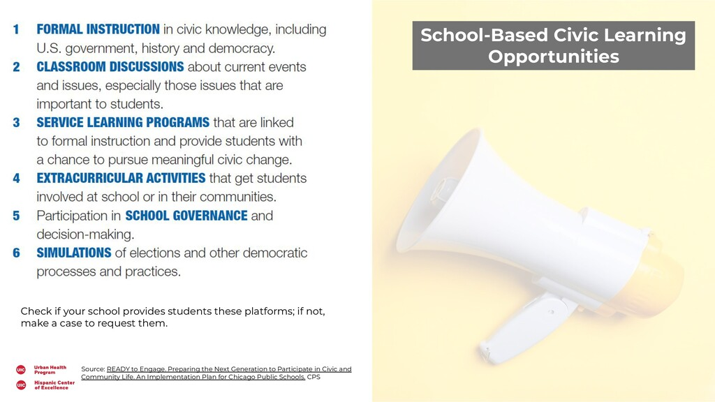 School-Based Civic Learning Opportunities Sourc...