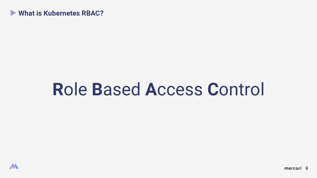 6 What is Kubernetes RBAC? Role Based Access Co...