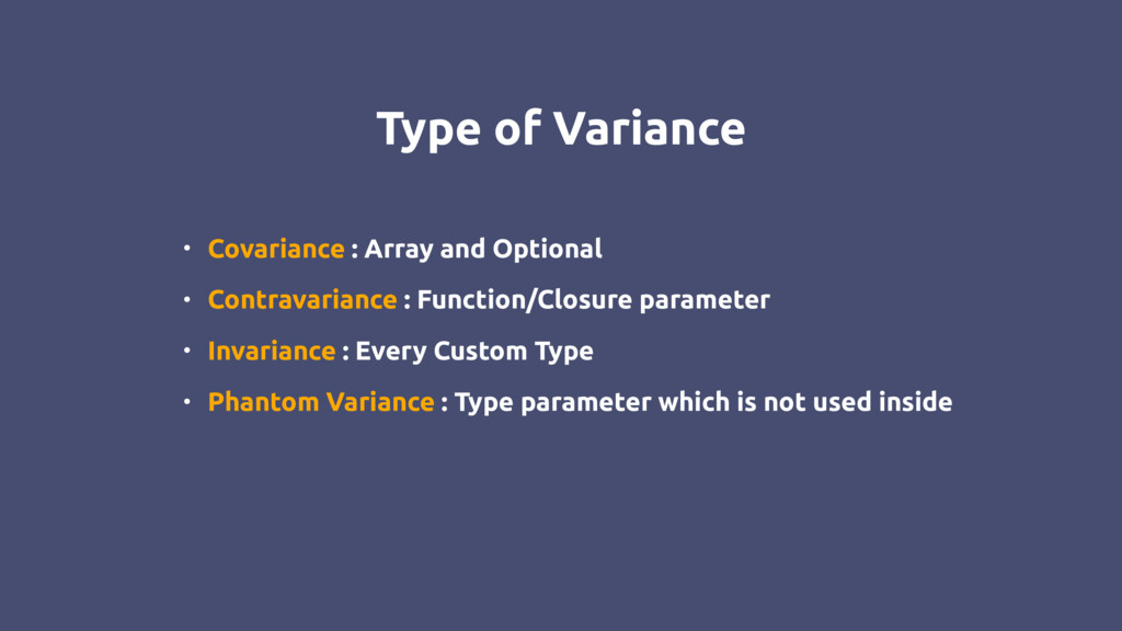 Type of Variance • Covariance : Array and Optio...