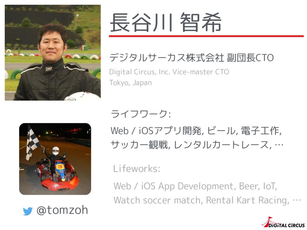 ライフワーク: Web / iOSアプリ開発, ビール, 電子工作, サッカー観戦, レンタ...