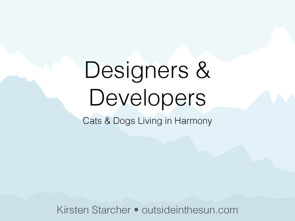 Designers & Developers Cats & Dogs Living in Ha...