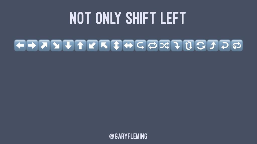 NOT ONLY SHIFT LEFT ⬅➡↗↘⬇⬆↙↖↕↔↪,-⤵/0⤴↩3 @garyfl...