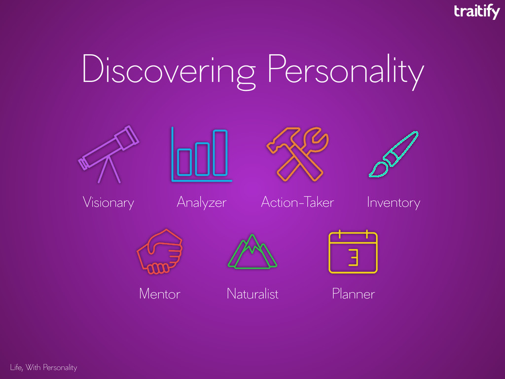 Discovering Personality Life, With Personality ...