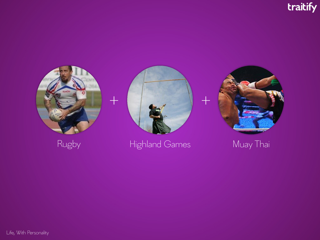 Life, With Personality Rugby Highland Games Mua...