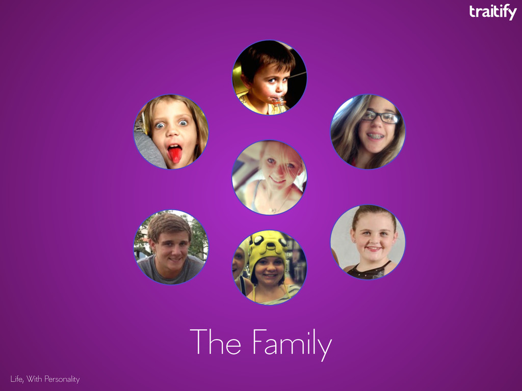 Life, With Personality The Family