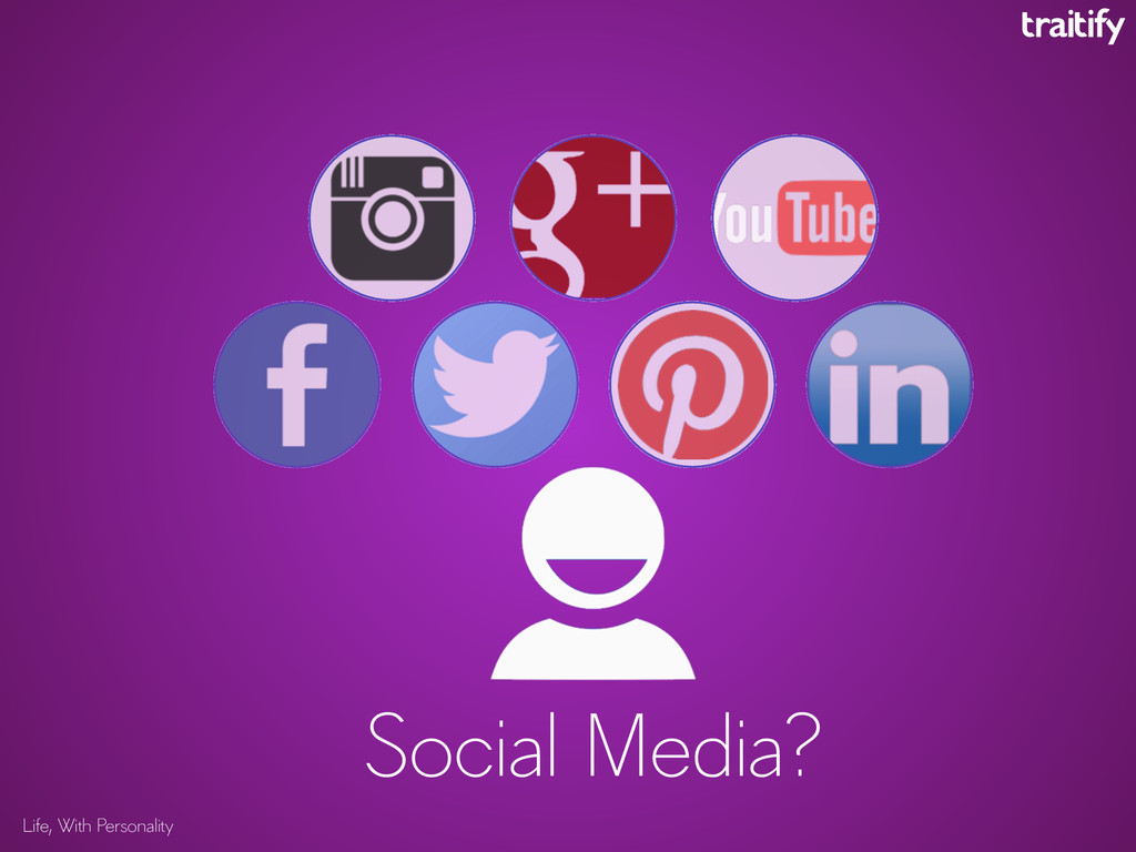 Life, With Personality Social Media?