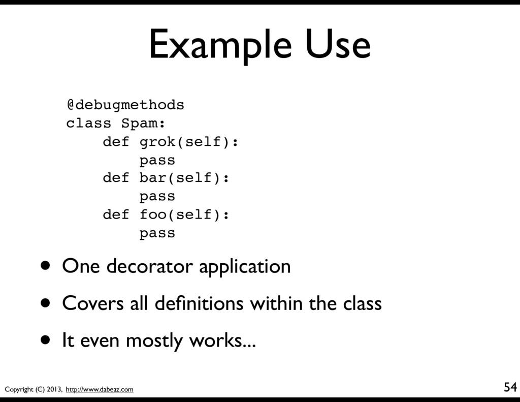 Copyright (C) 2013, http://www.dabeaz.com Examp...