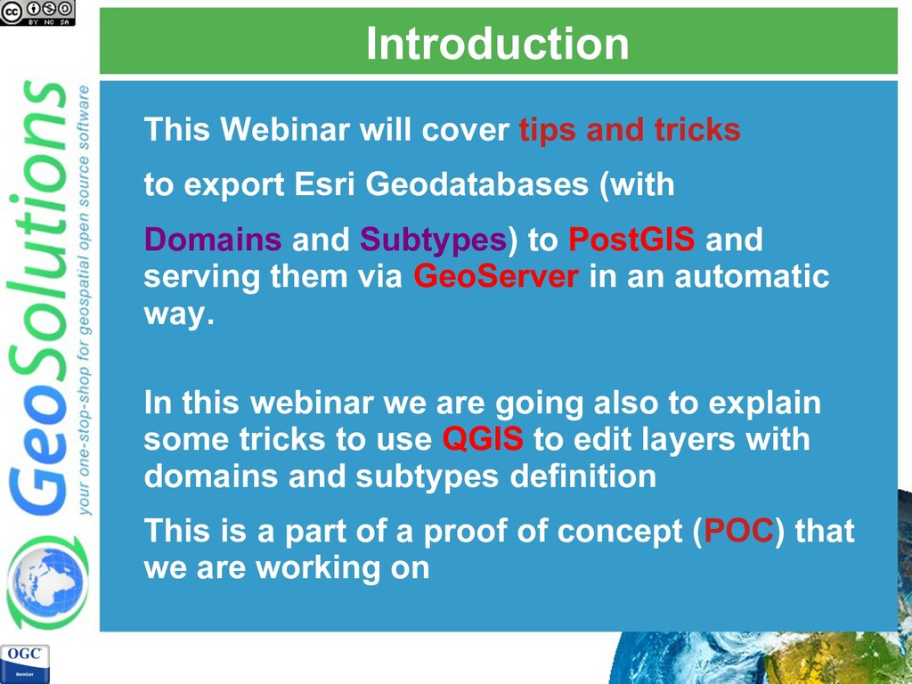 Introduction This Webinar will cover tips and t...