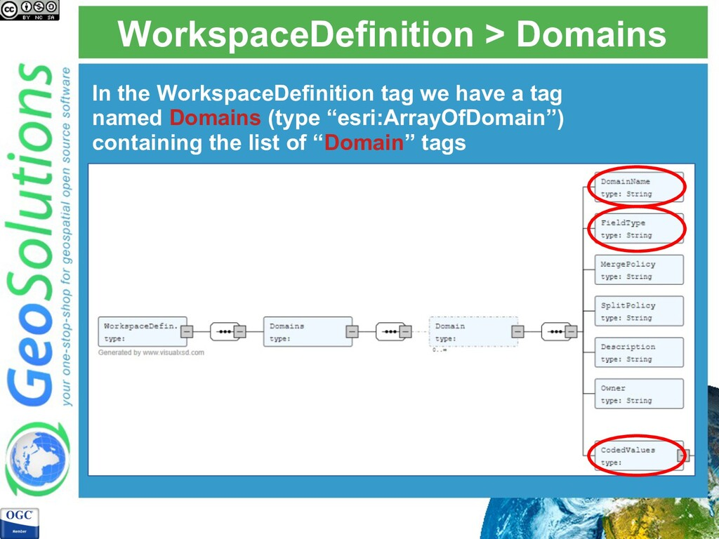 WorkspaceDefinition > Domains In the WorkspaceD...