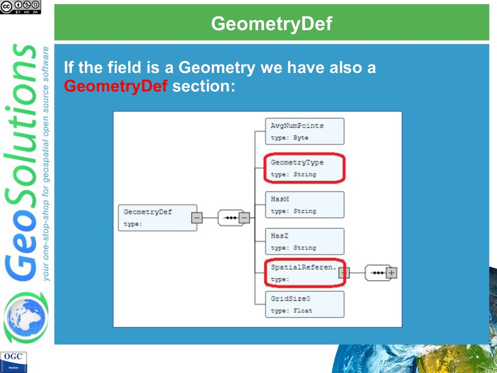 GeometryDef If the field is a Geometry we have ...