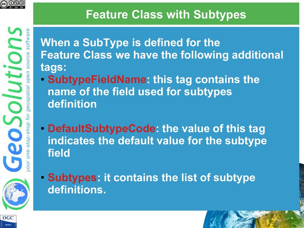 Feature Class with Subtypes When a SubType is d...
