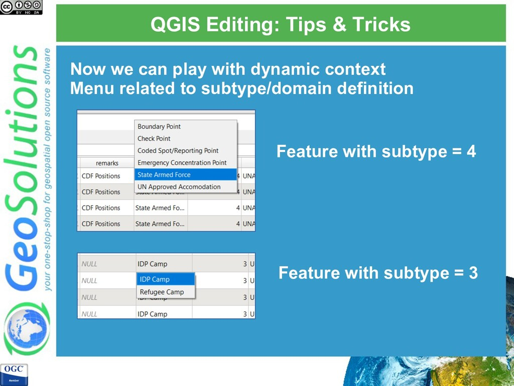 QGIS Editing: Tips & Tricks Now we can play wit...