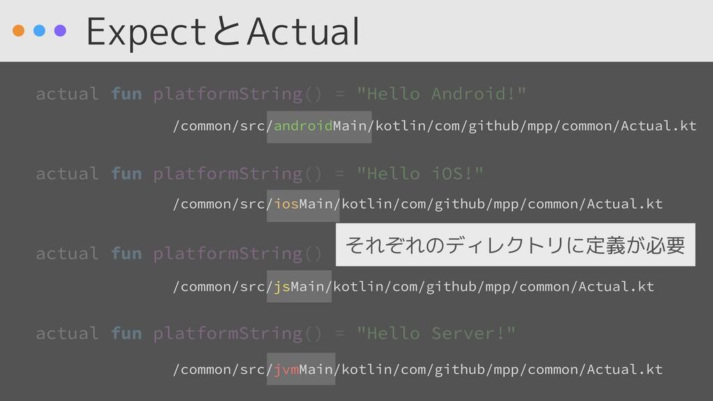 ExpectとActual /common/src/androidMain/kotlin/co...
