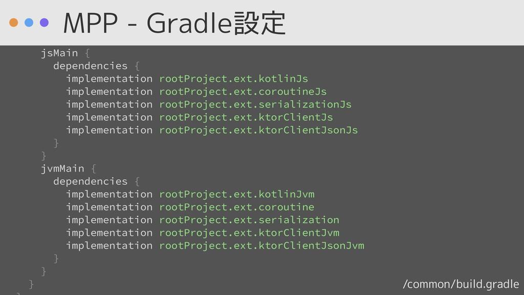/common/build.gradle implementation rootProject...