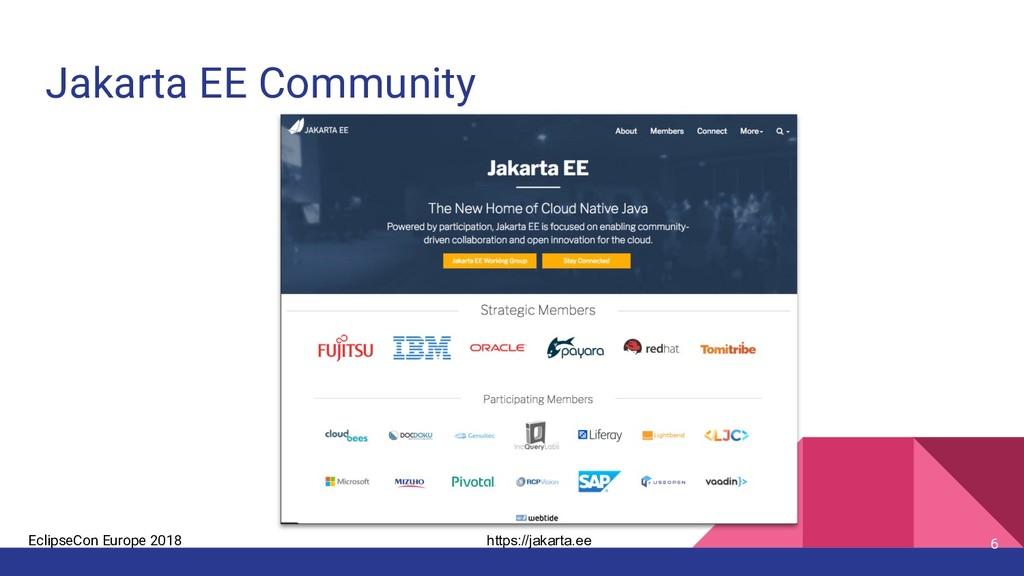 EclipseCon Europe 2018 Jakarta EE Community 6 h...