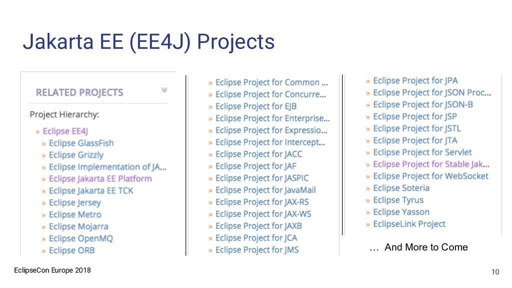 EclipseCon Europe 2018 Jakarta EE (EE4J) Projec...