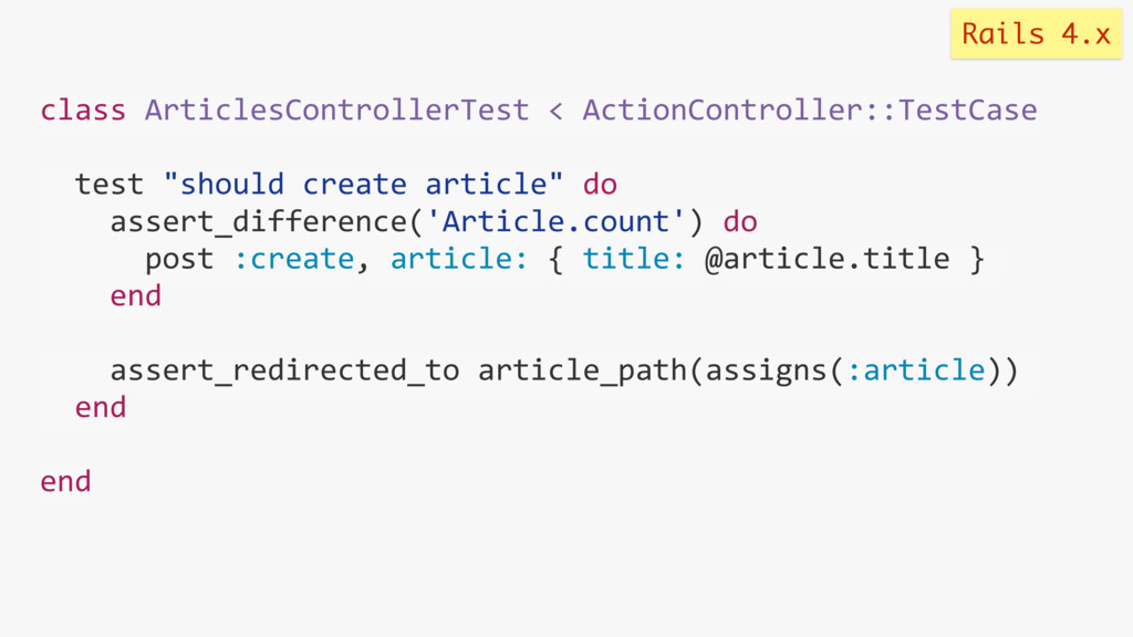 class ArticlesControllerTest < ActionController...