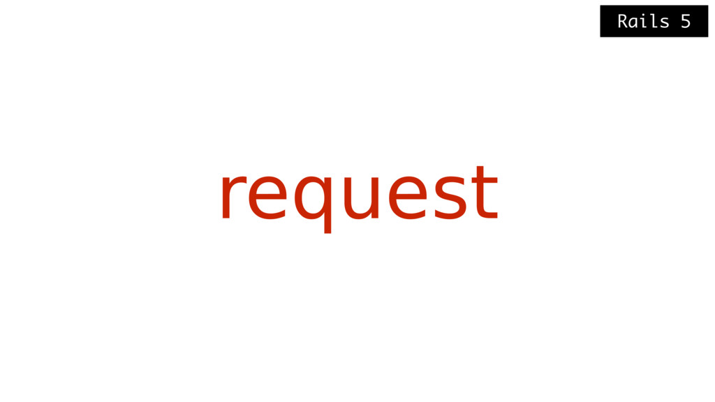 request Rails 5