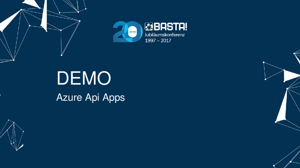 DEMO Azure Api Apps