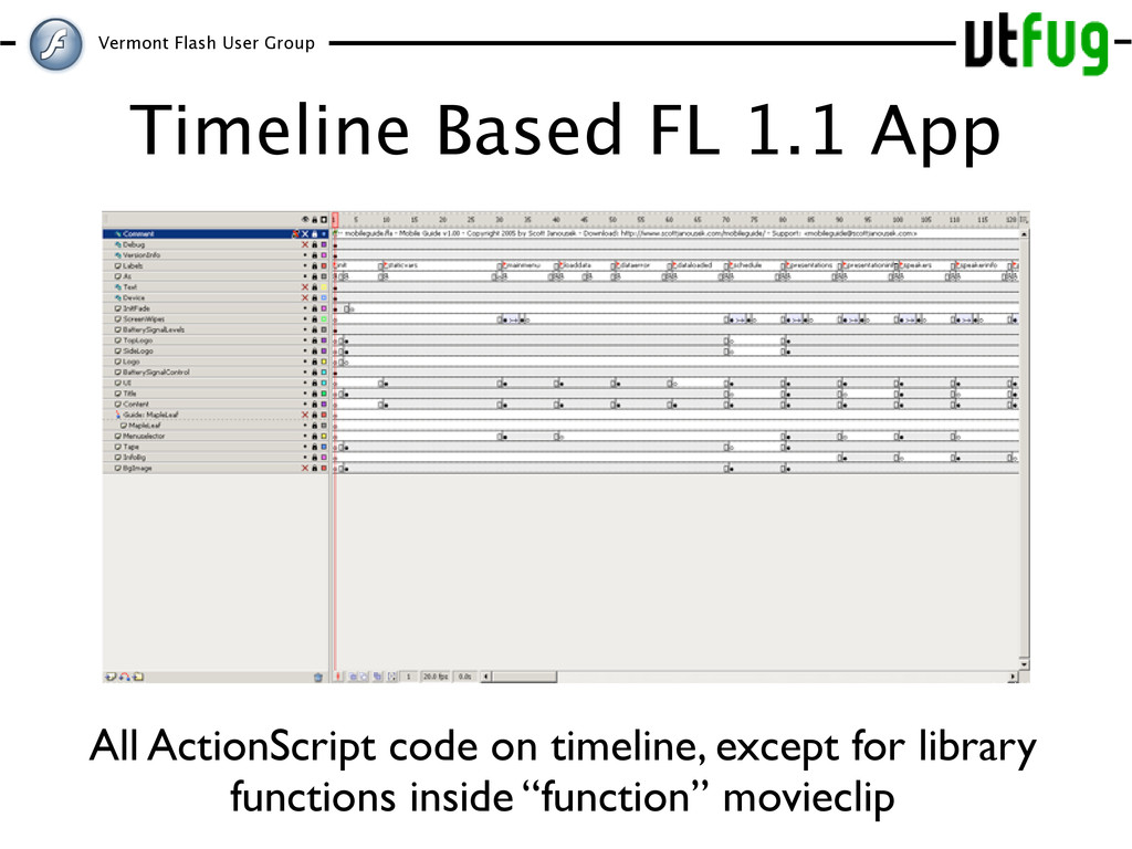 Vermont Flash User Group Timeline Based FL 1.1 ...