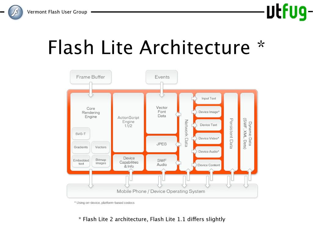 Vermont Flash User Group Flash Lite Architectur...