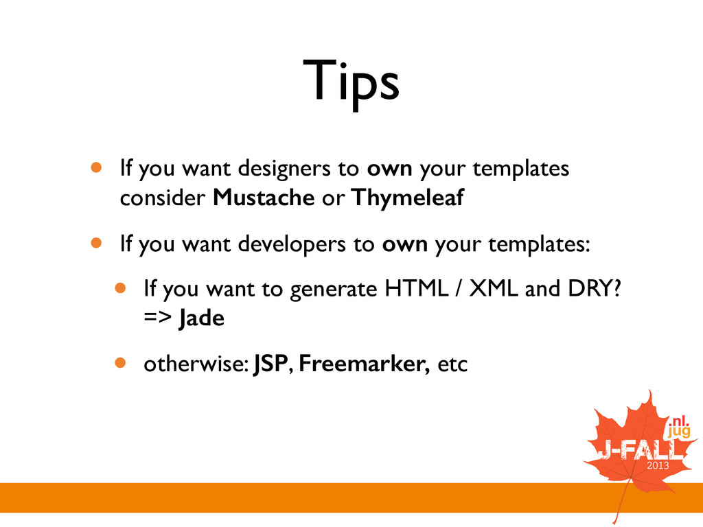 Tips • If you want designers to own your templa...