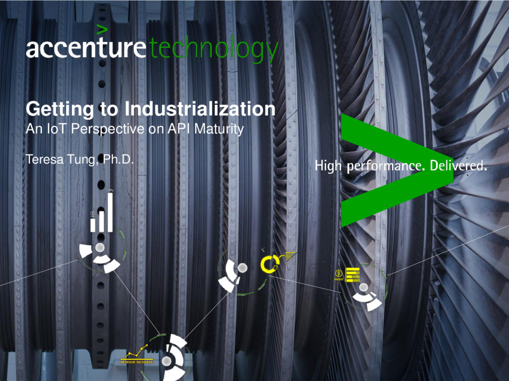 Getting to Industrialization An IoT Perspective...