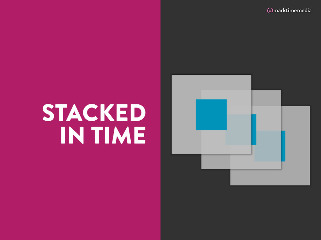 @marktimemedia STACKED IN TIME