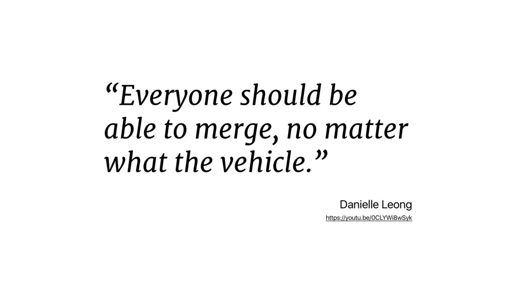 """Everyone should be able to merge, no matter wh..."