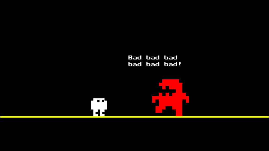 Bad bad bad bad bad bad!
