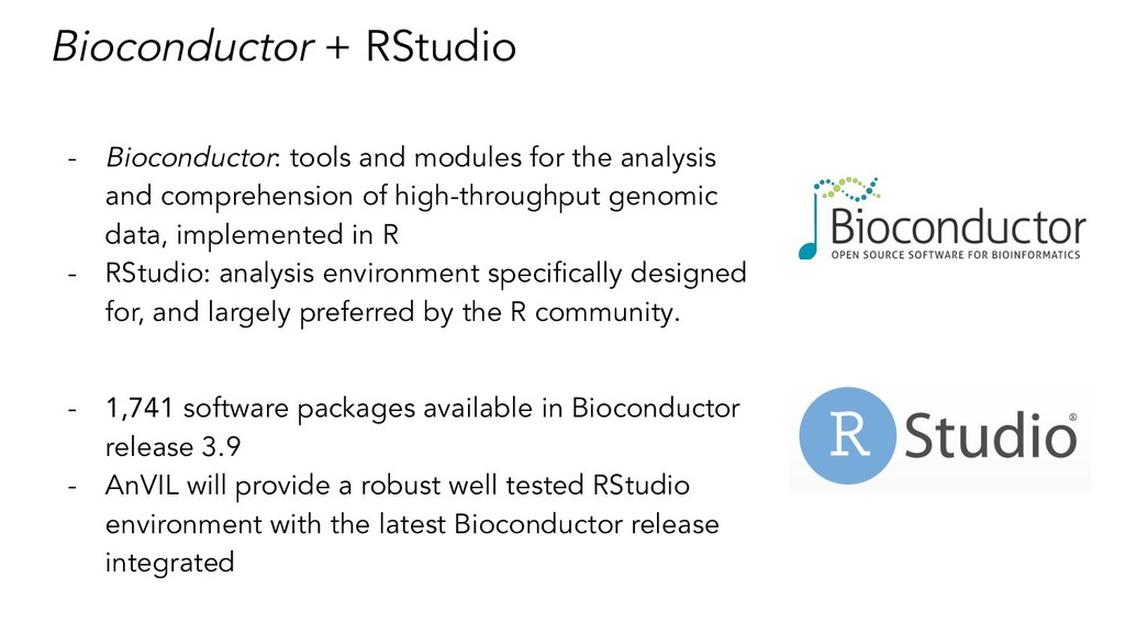 Bioconductor + RStudio - Bioconductor: tools an...