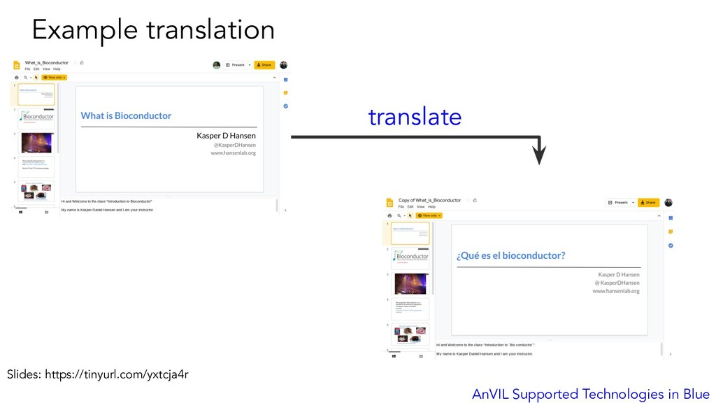 Example translation AnVIL Supported Technologie...