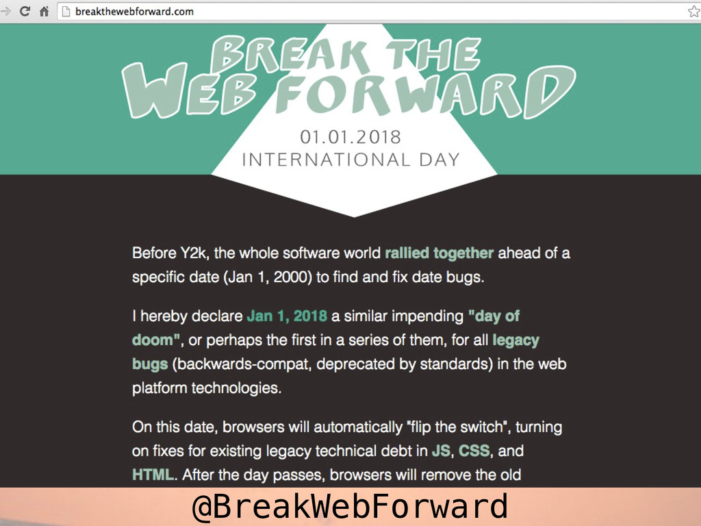 @BreakWebForward