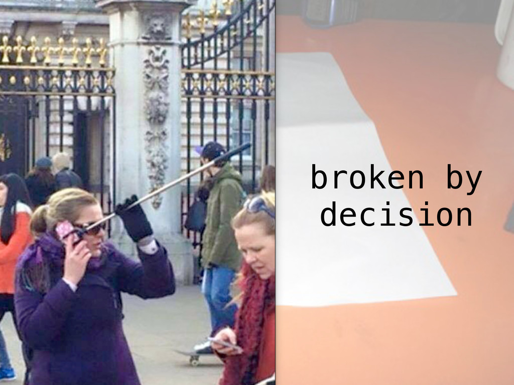 broken by decision