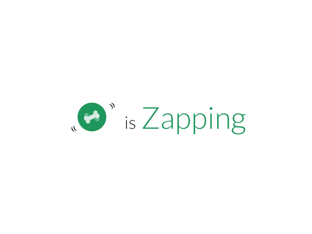 ₍₍ ⁾⁾ is Zapping