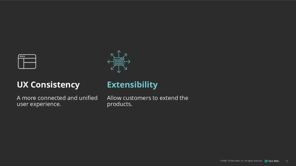 ©2008–18 New Relic, Inc. All rights reserved UX...