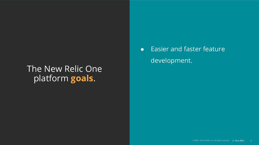 ©2008–18 New Relic, Inc. All rights reserved 18...
