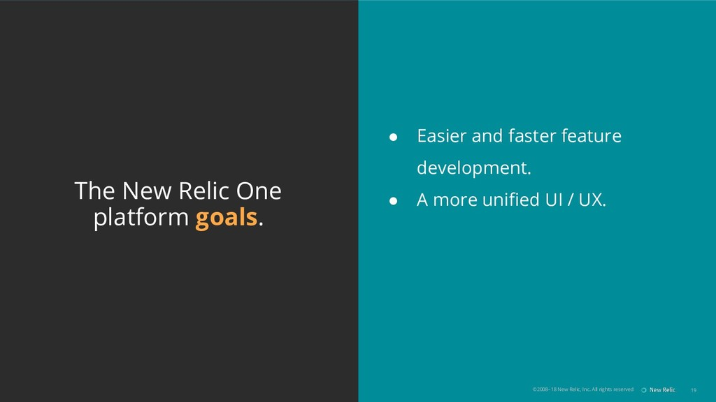 ©2008–18 New Relic, Inc. All rights reserved 19...
